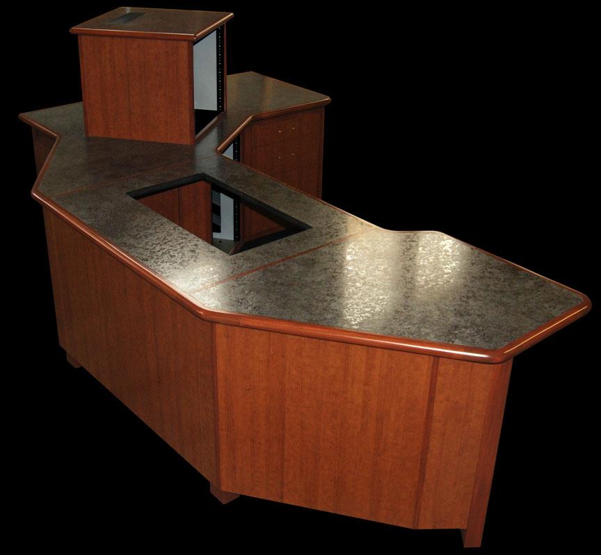 Designcraft Pd 20 Broadcast Studio Furniture Desk