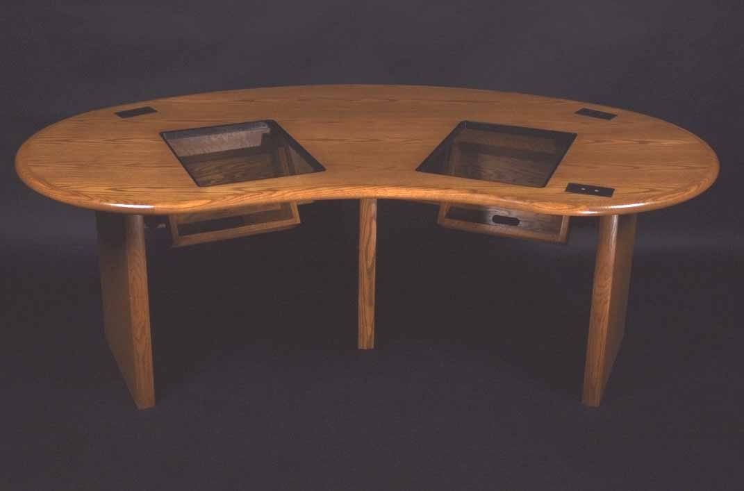 Kidney Table Kidney Shaped Table Custom Conference Tables