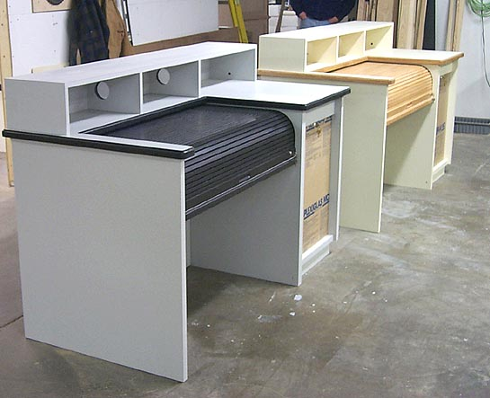 Rolltop Sound Equipment Cabinets