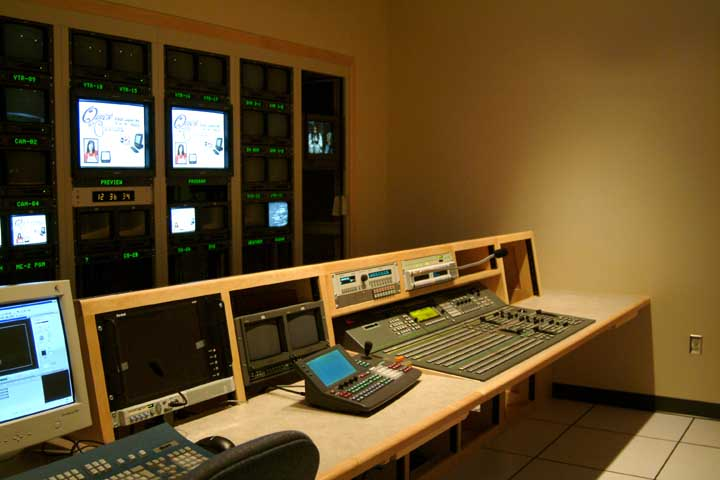 Television Broadcast Furniture Television Control Rooms