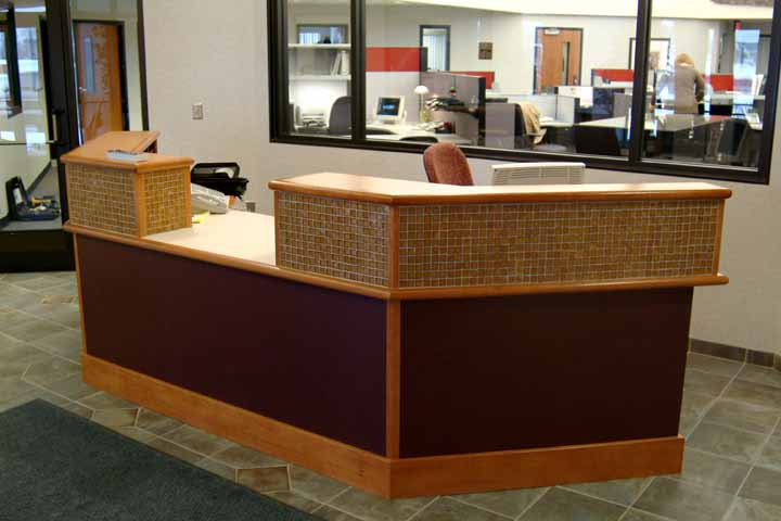 Designcraft office reception desks, reception desk furniture