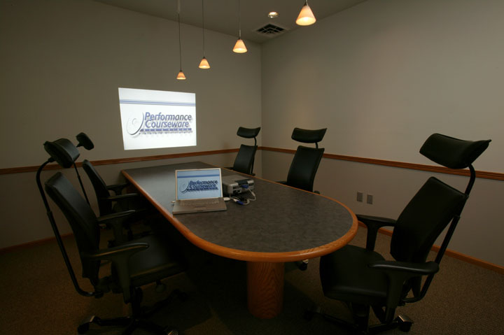 Video Presentation And Conference Room Table
